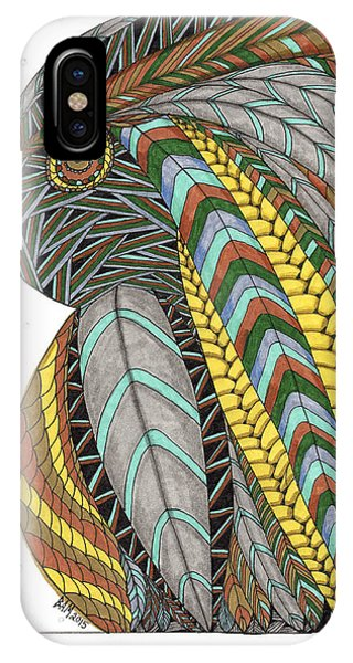 Bird_inquisitive_s007 IPhone Case
