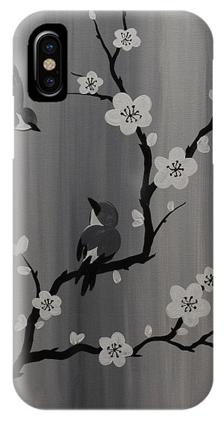 Birds And Blossoms IPhone Case