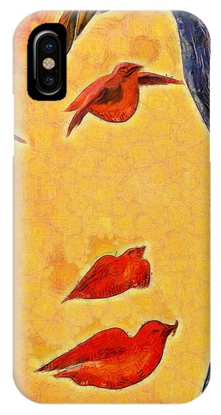 Birds And Tree - Pa IPhone Case