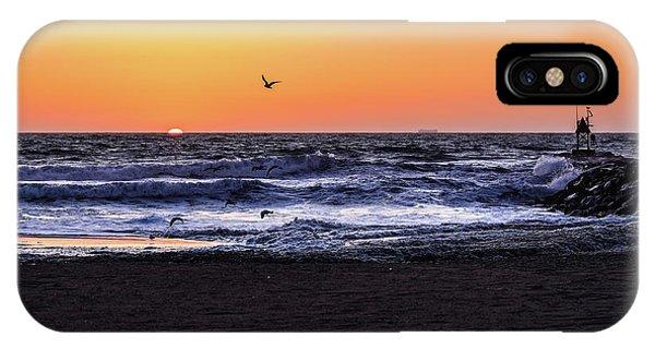 Birds At Sunrise IPhone Case
