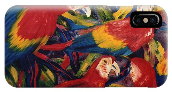 Birds In The Wild IPhone Case