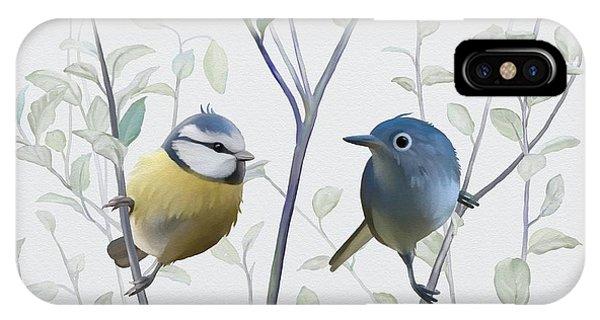 Birds In Tree IPhone Case