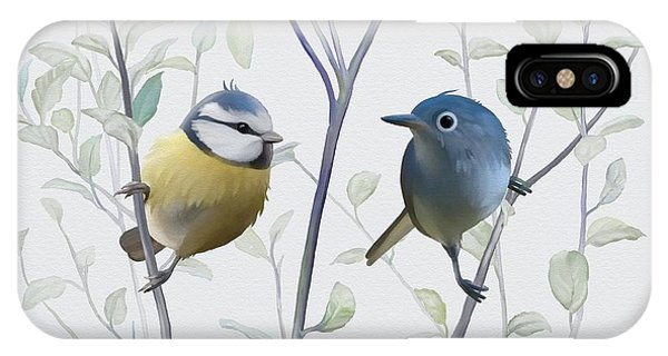 Birds In Tree IPhone Case