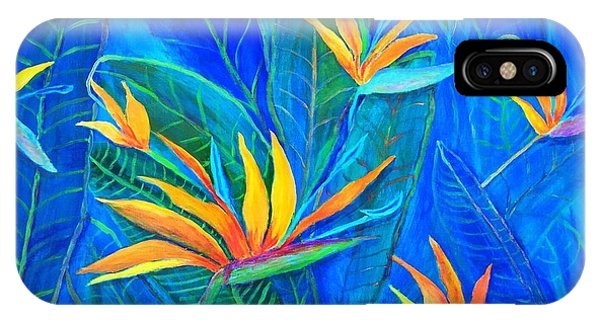 Birds Of Paradise In Florida IPhone Case