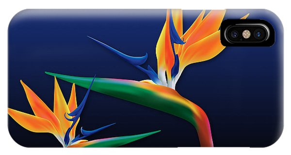 Birds Of Paradise IPhone Case