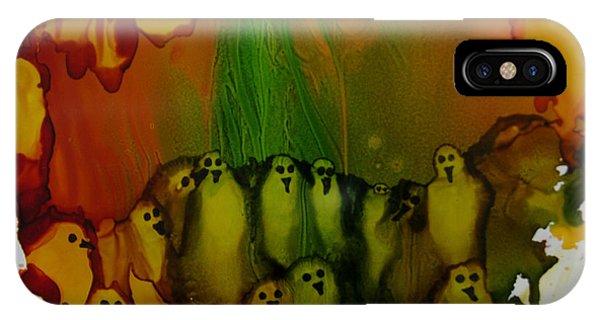 Birds Of The Ocean # 69. IPhone Case