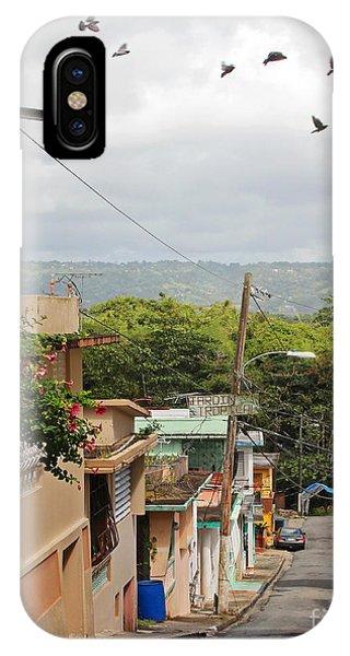 Birds Over Yabucoa IPhone Case