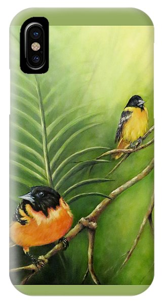 On The Lookout, Birds  IPhone Case