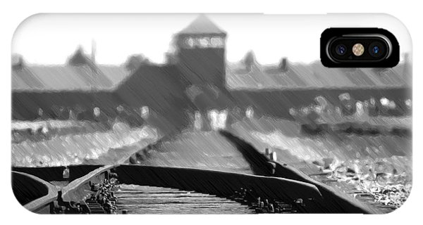 Birkenau / Auschwitz Railhead - Pol402324 IPhone Case