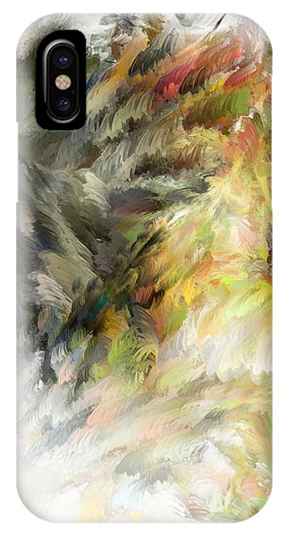 Birth Of Feathers IPhone Case