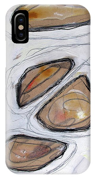 IPhone Case featuring the painting Birth Of Logic by Rick Baldwin