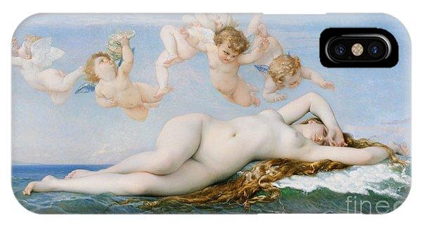 Goddess iPhone Case - Birth Of Venus by Alexandre Cabanel