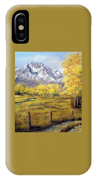 Bishop In The Fall IPhone Case