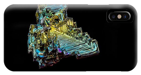 Bismuth Crystal IPhone Case