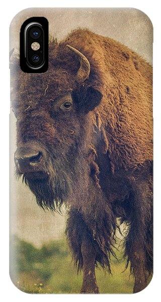 IPhone Case featuring the photograph Bison 8 by Joye Ardyn Durham