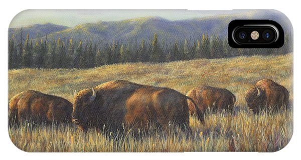 Bison Bliss IPhone Case