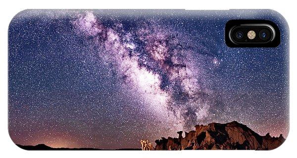 Bisti Badlands Night Sky IPhone Case