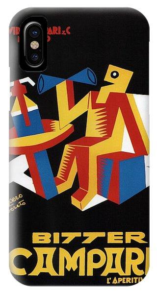 Advertising iPhone Case - Bitter Campari - Aperitivo - Vintage Beer Advertising Poster by Studio Grafiikka