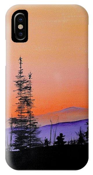 Bitterroot Mountain Range IPhone Case