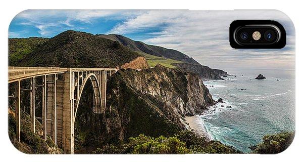 Bixby Creek Bridge Big Sur California  IPhone Case
