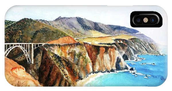 Bixby Bridge Big Sur Coast California IPhone Case