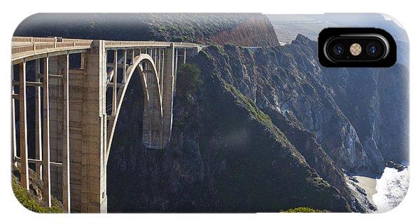Bixby Bridge Crossing A Chasm IPhone Case