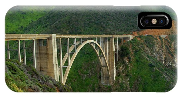 Bixby Bridge In Big Sur IPhone Case