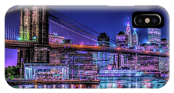IPhone Case featuring the photograph Bk Glow by Theodore Jones