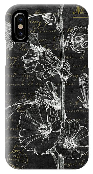 Hummingbirds iPhone Case - Black And Gold Hummingbirds 2 by Debbie DeWitt