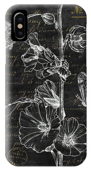 Hummingbird iPhone Case - Black And Gold Hummingbirds 2 by Debbie DeWitt