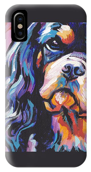 Black And Tan Cav IPhone Case