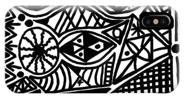 Black And White 4 IPhone Case