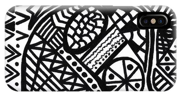 Black And White 5 IPhone Case