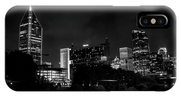 Black And White Downtown IPhone Case