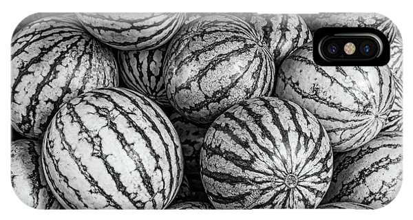 Black And White Mellons IPhone Case