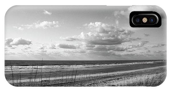 Black And White Ocean Scene IPhone Case