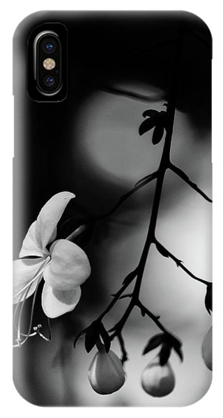 Black And White Pearls IPhone Case