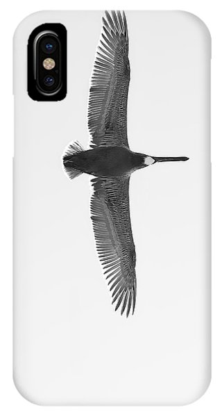 Black And White Pelican IPhone Case
