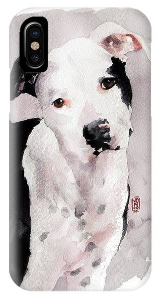 Black And White Pit IPhone Case