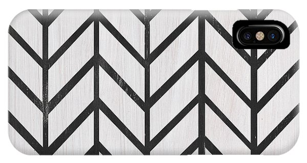 Black And White Quilt IPhone Case