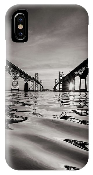 Black And White Reflections IPhone Case