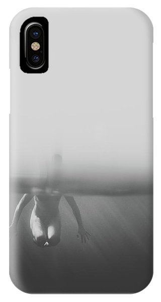 Black And White Underwater IPhone Case