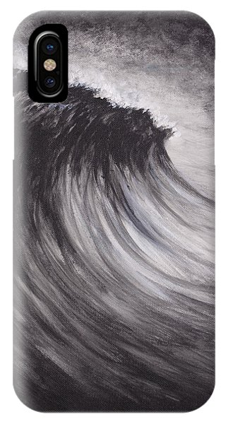 Black And White Wave Guam IPhone Case