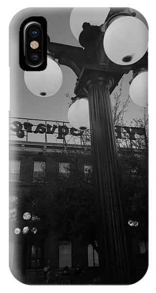 Black And White Ybor City IPhone Case