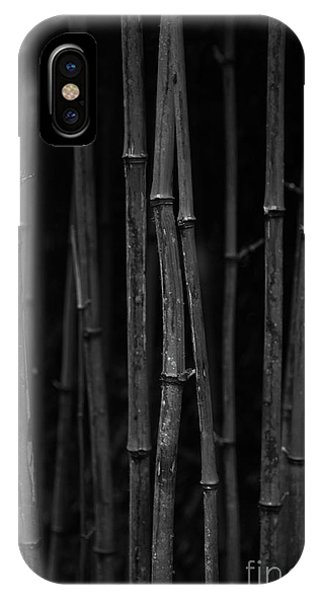 Black Bamboo IPhone Case
