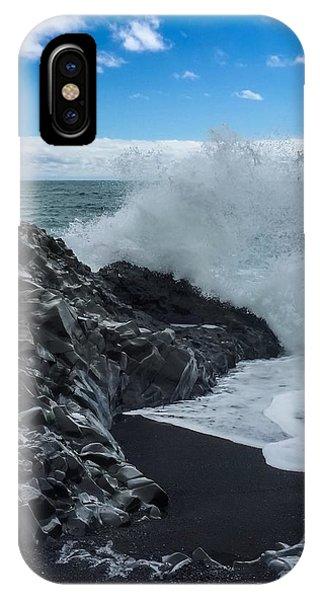 iPhone Case - Black Beach In Iceland by Chris Feichtner