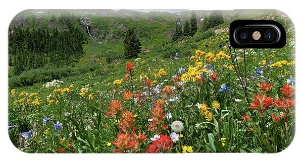 Black Bear Pass Landscape IPhone Case