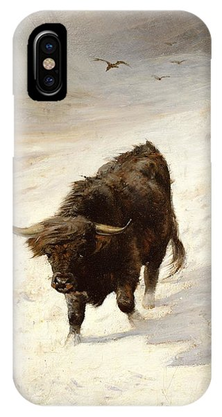 Black Beast Wanderer  IPhone Case