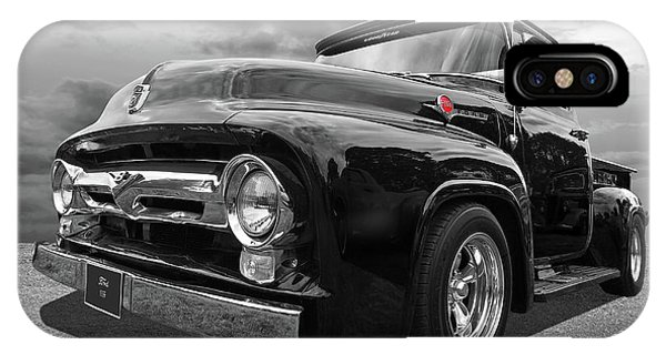 Black Beauty - 1956 Ford F100 IPhone Case