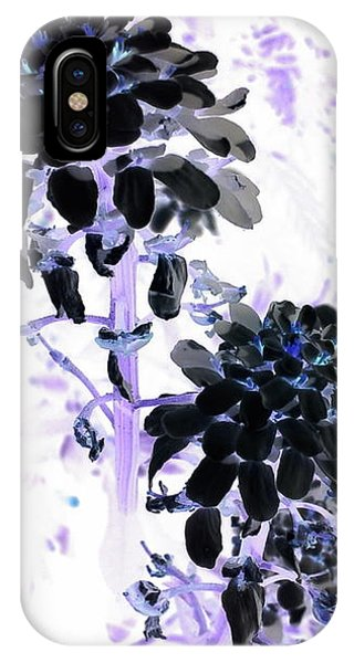 Black Blooms I I IPhone Case